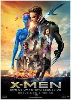 X Men: Dias de um Futuro Esquecido   Dublado RMVB + AVI TS V2 (2014)