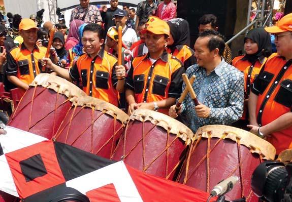 pekan informasi nasional 2013, PIN 2013 Medan, tifatul sembiring, humas bolsel, Herson Mayulu, Bolsel, Bolaang Mongondow Selatan