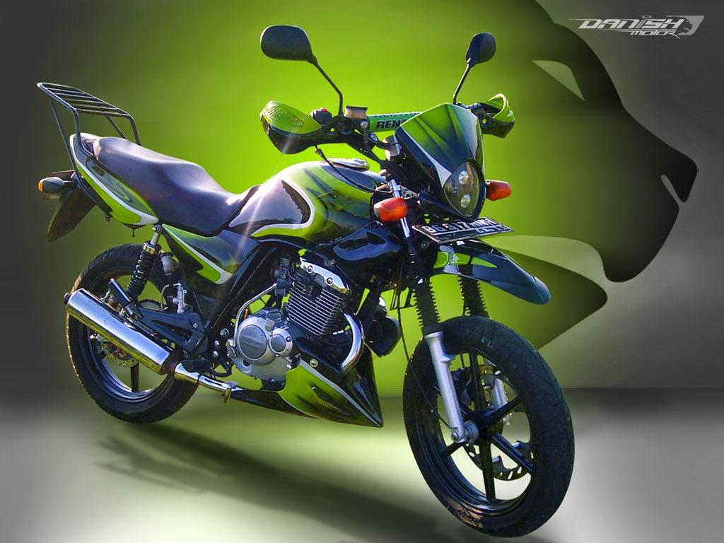 Suzuki Thunder Modifikasi Harley