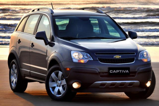 Nova Chevrolet Captiva 2011 - frente