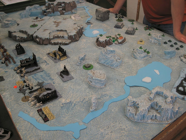 Will's 'nids rampage across an ice world to get to Tim's AM.