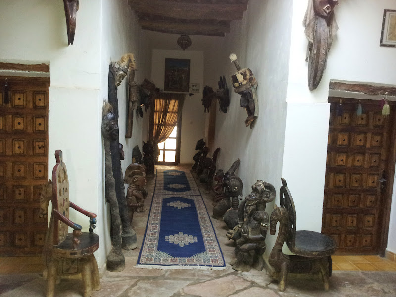 More wooden carvings