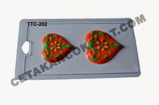 Cetakan Coklat TTC202 Love valentine