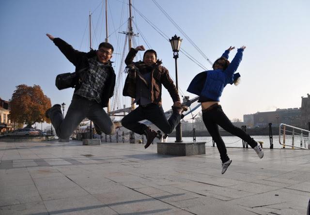 我們在格但斯克跳躍!
