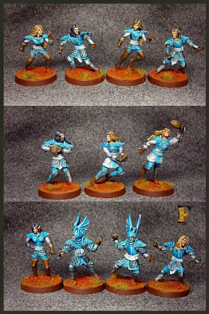 Equipo Altos Elfos de Fanath Art Blood Bowl
