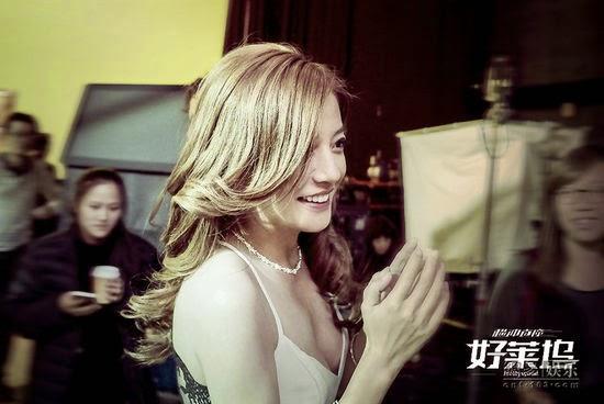 2014.11.26[Khuấy đảo Hollywood]_Khóa máy phần quay tại Mỹ, khả năng diễn xuất của Triệu Vy được khen ngợi.
