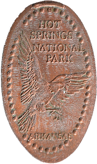 Hot Springs National Park penny