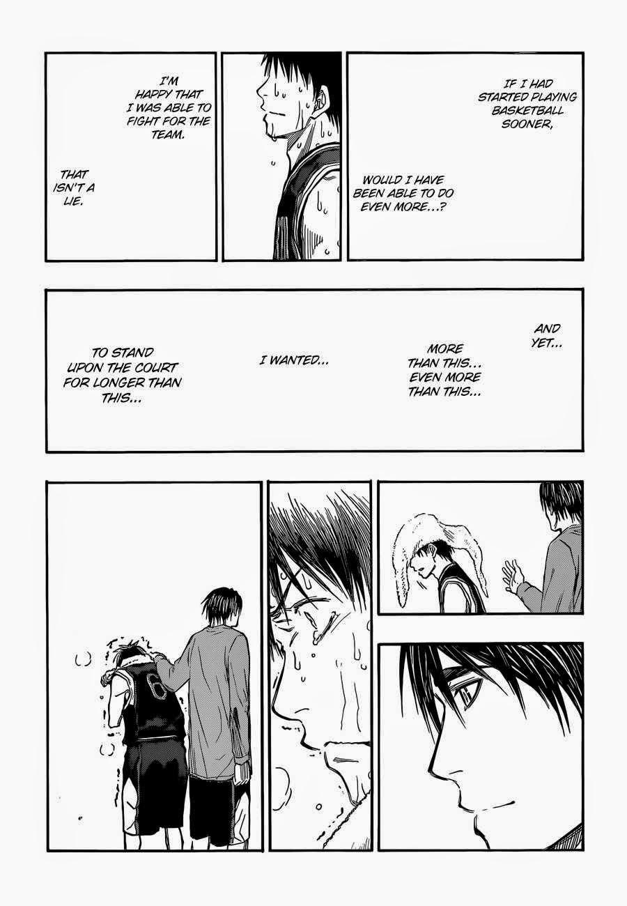 Kuroko no Basket Manga Chapter 257 - Image 07