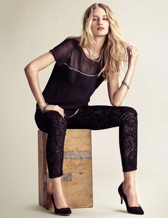 #鉚釘的溫柔氣質: Linda Vojtová 經典呈現 H&M 2013 Fall Lookbook! 5