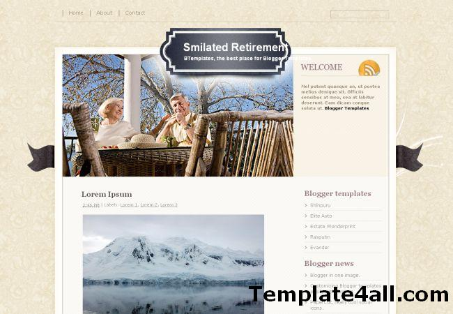 Free Cute Business Blogger Template