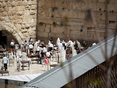 Wailing Wall in Jerusalem Israel