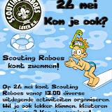 Zwemdag bij de Biezem - Scouting Raboes 2013