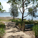 Foot path on the foreshore of Lake Macquarie at Murray's beach (389264)