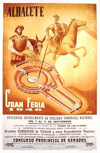 Cartel Feria Albacete 1946
