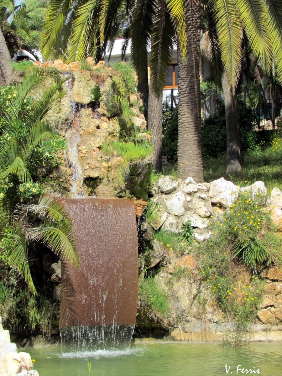 Parque marianao jard n rom ntico barcelona modernista for Jardin romantico