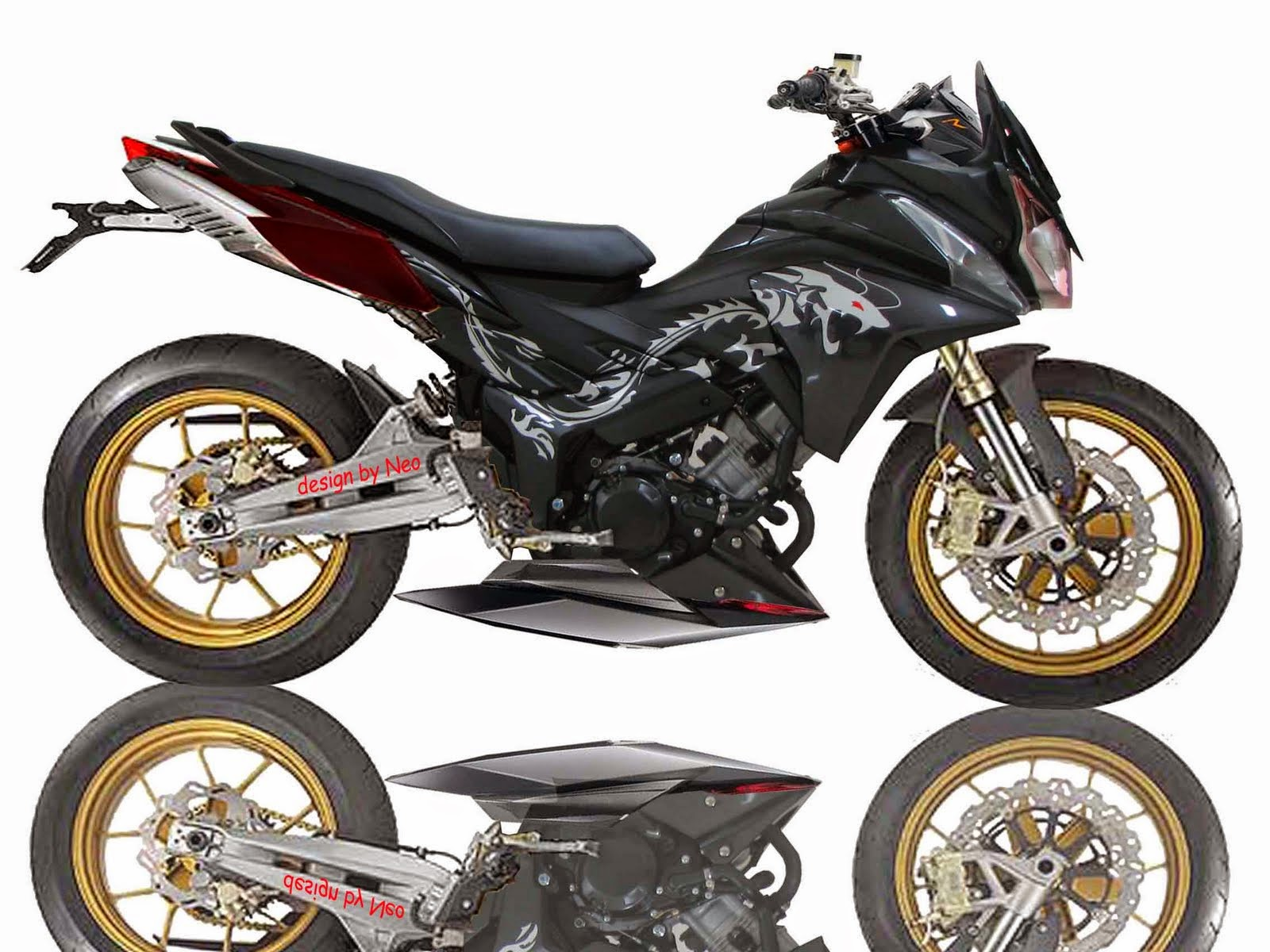 Honda Cs1 Modifikasi Sport