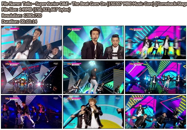 Download [Perf] Super Junior-D&E – The Beat Goes On ...