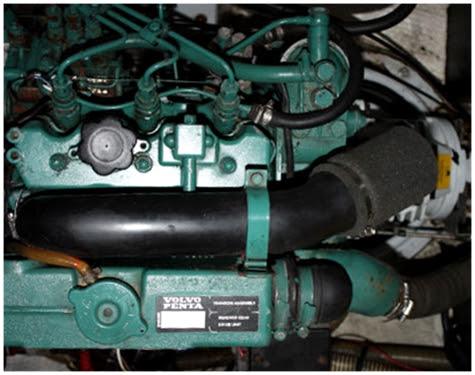 volvo penta diesal 29 hp engine