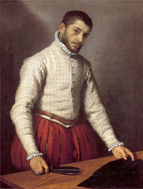Giovanni Batista Moroni - The Tailor