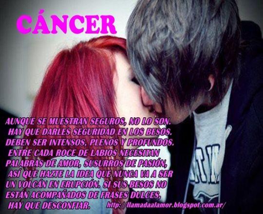 Como besan los de Cancer