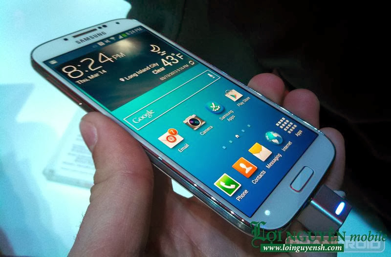 Dien thoai Samsung Galaxy S4 copy xach tay Dai Loan
