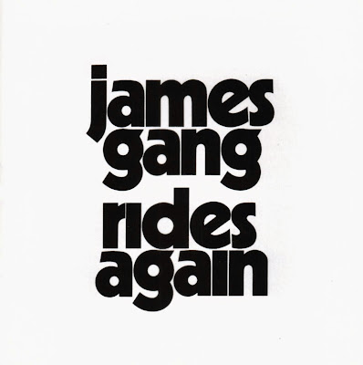James Gang ~ 1970 ~ Rides Again