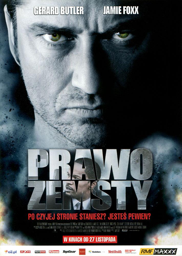 Ulotka filmu 'Prawo Zemsty (przód)'