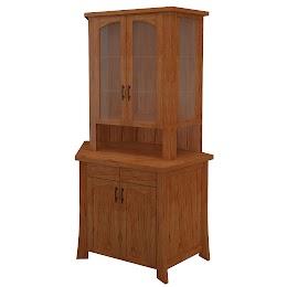 palermo corner cabinet