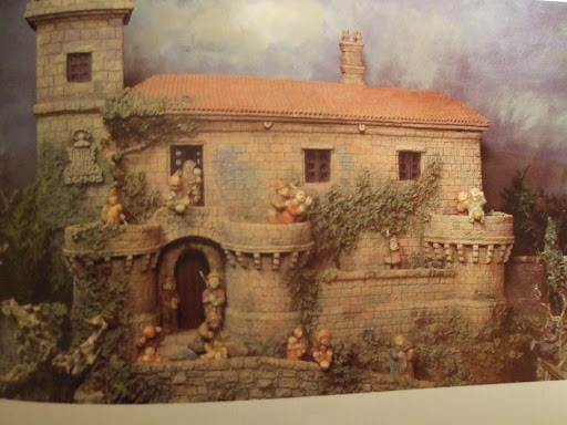 Belen de Baltar: castillo de Herodes transformado en un pazo gallego