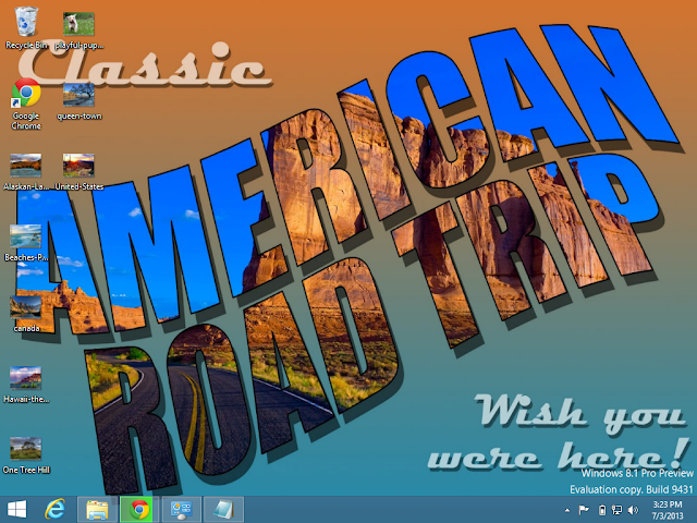 Classic America Theme in Windows 8.1