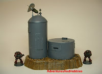 Remote listening post Military Science Fiction war game terrain and scenery - UniversalTerrain.com