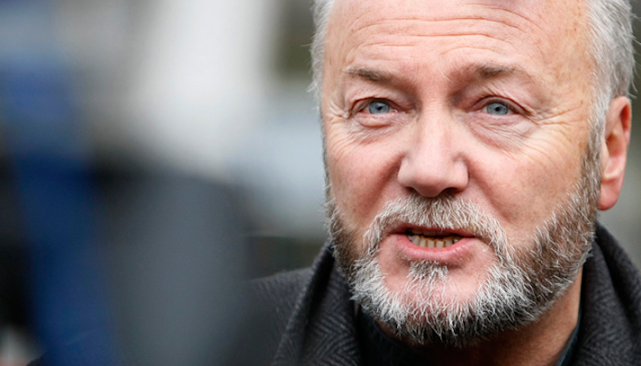 George Galloway MP from the Respect Party attacked on the Golborne Rd.