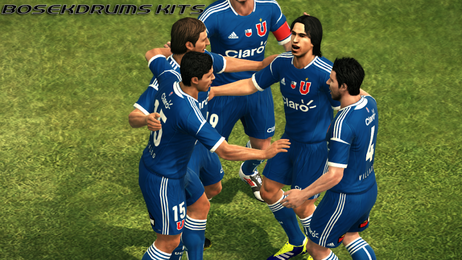 Universidad de Chile 12-13 Kitset - PES 2012