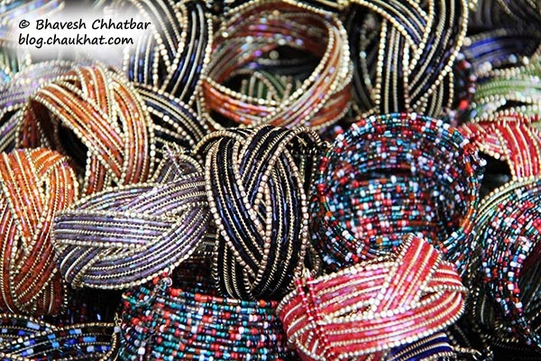 Kala Ghoda - Colorful bangles