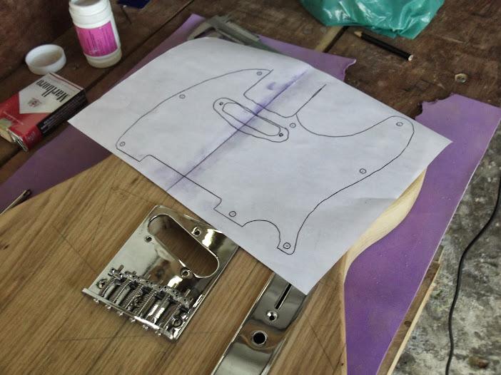 Construção guitarra telecaster, meu 1º projeto bolt on. Finalizado e com vídeo - Página 2 DSCF0846