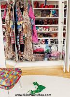 Thiết kế tủ quần áo: Một số thủ thuật giúp tăng diện tích để quần áo