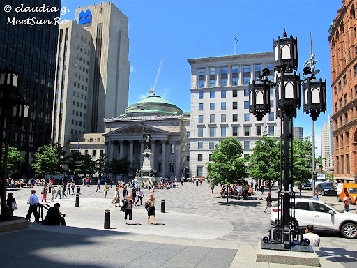 Old Montreal. Vieux Port.