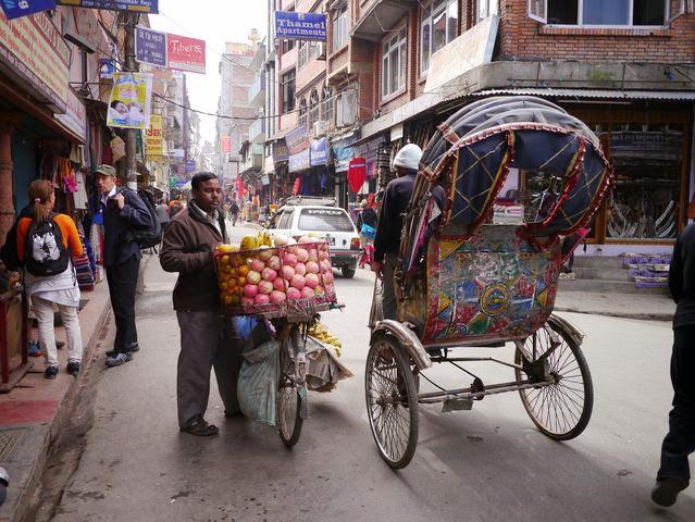 達人帶路-環遊世界-尼泊爾-水果攤
