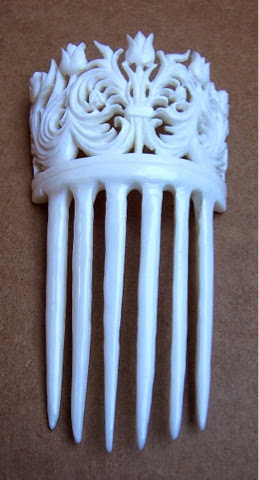 Decorative comb, hair accessories