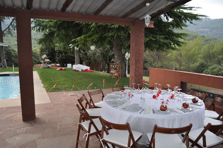 Organización de catering para Boda en Masia en Barcelona