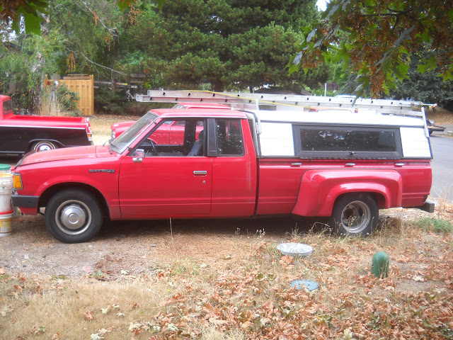 You Have To Find Some One With A Chevy Luv Stepside Box Extended 620 Dually Conversion Or Other Small Truck After Market Fenders