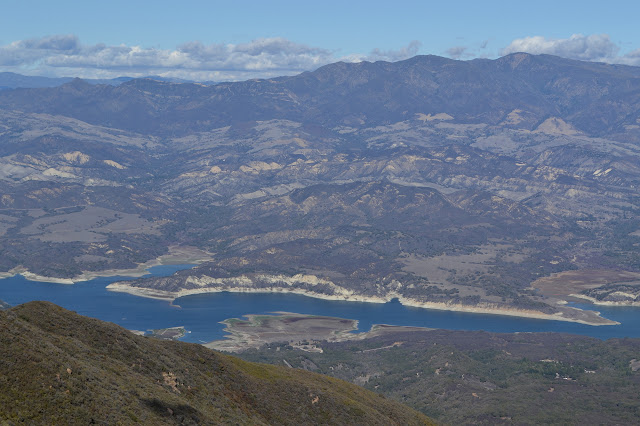 Cachuma Lake from above