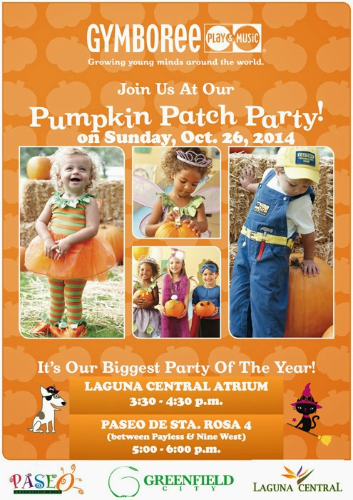 Gymboree Pumpkin Patch Party at Paseo de Sta. Rosa
