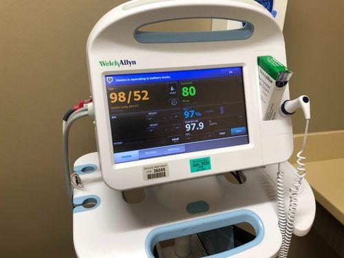 睡眠檢查儀器示意圖