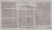 Artículo de Graciliano Martín Fumero sobre Verónica Victoria Romero Reyes