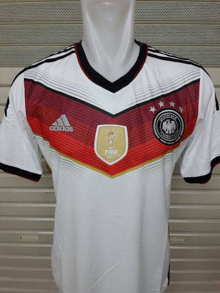 Jersey Jerman Home Bintang 4 World Cup 2014 Champion