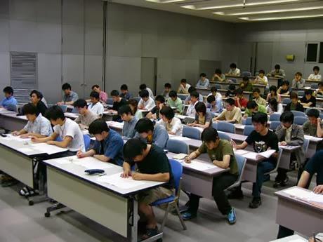 lớp học tại nhật