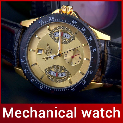 Luxury Fashion Men Automatic Mechanical Watch Self Wind