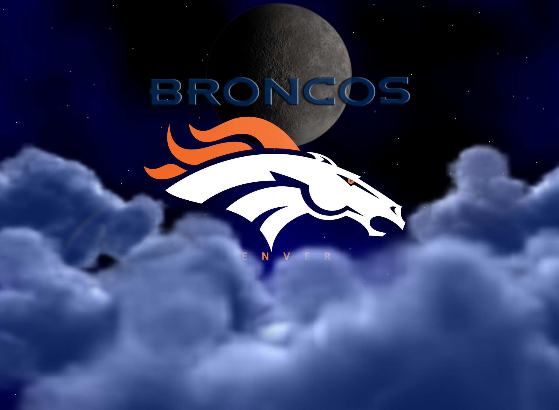 Wallpapers by wicked shadows denver broncos above the clouds wallpaper saturday august 25 2012 voltagebd Gallery