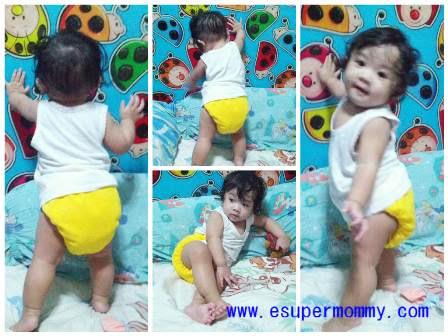 Filipino Baby Girl at Nine Months
